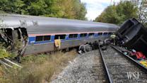 Amtrak Train Derails in Vermont