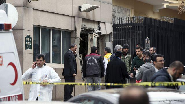 US Embassy hit by homicide bomber in Turkey, at least 1 dead