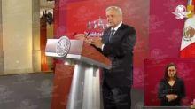 """""""Basta de hipocresías"""", dice AMLO a Calderón"""