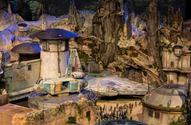 Disney's 'Star Wars' theme park is taking shape