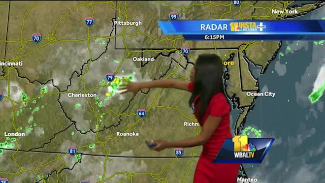 Chance for storms in forecast