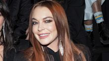 Lindsay Lohan spotted front row at Paris Fashion Week amid reality-show drama