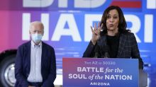 Trump apunta sus cañones hacia Kamala Harris, no a Joe Biden