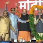 Modi's party surges to victory in Indian vote