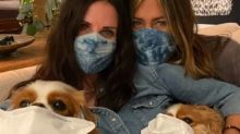 Jennifer Aniston And Courteney Cox Urge Fans To Wear Masks; Shares Pic Of Friend With COVID-19