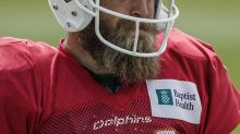 Ryan Fitzpatrick on indefinite leave from Dolphins after death of his mother, may miss miss opener