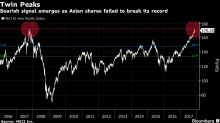 Charting the Fatigue in Asia Stocks Losing Grip on Six-Week Run