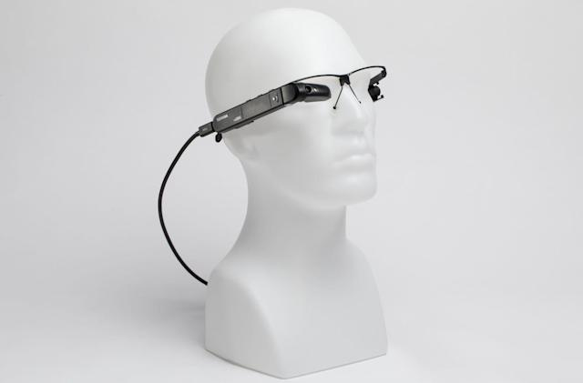 Toshiba's smart glasses are powered by mini Windows PCs