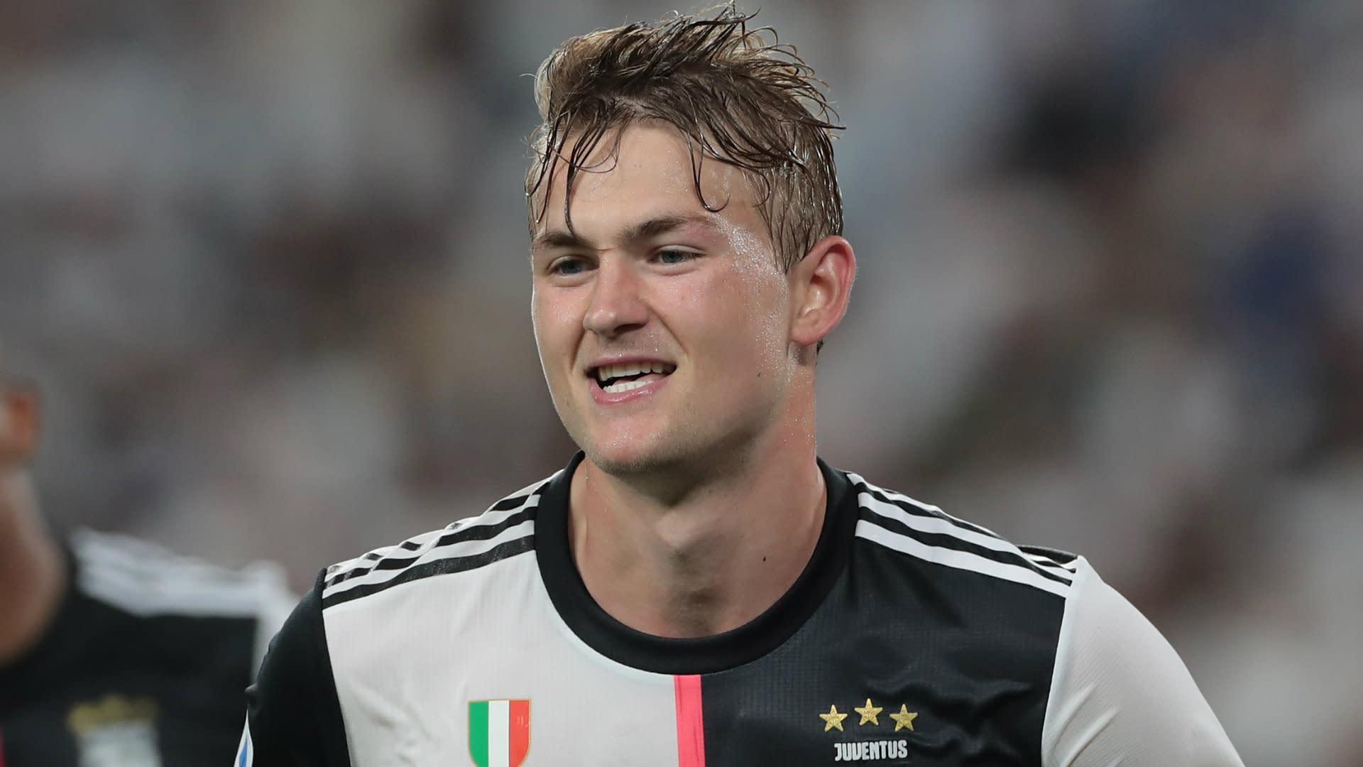 He always stays calm' - Van Dijk backs de Ligt following shaky Juve start