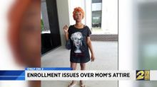 Mom says she was dress-coded by high school after trying to enroll daughter in classes