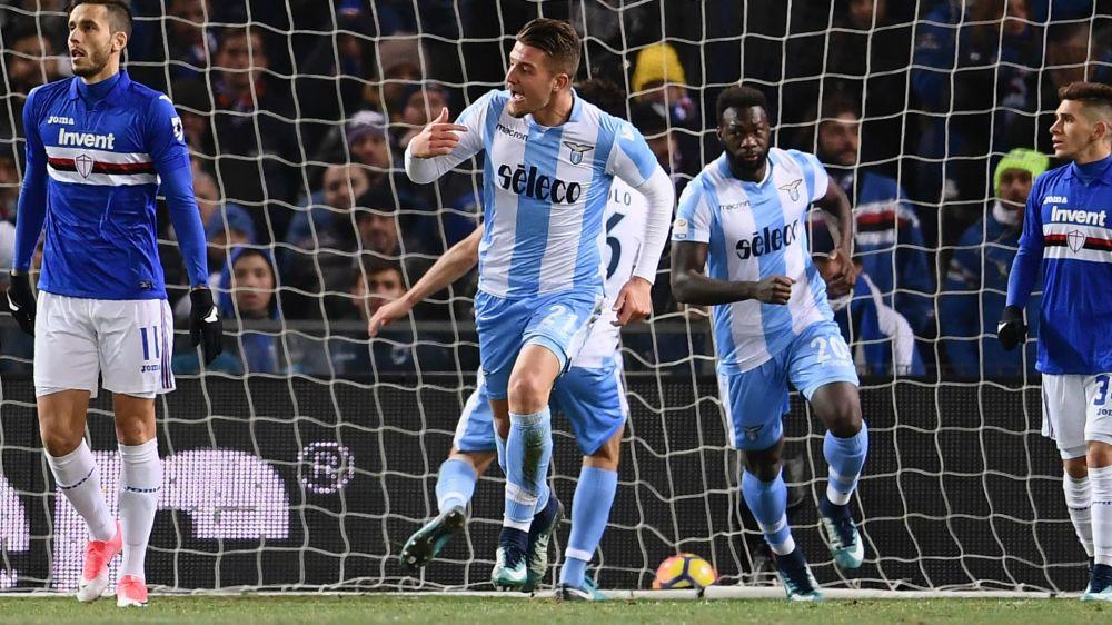 Sampdoria-Lazio 1-2: Caicedo regala la vittoria a Inzaghi