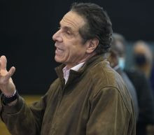 Kissing Cuomo Doubles Down as Top Democrats Show Him the Door Over Harassment Allegations