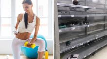 Empty shelves: Kmart's fitness equipment becomes latest coronavirus panic buy