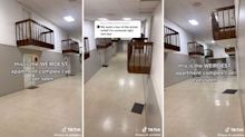 TikTok confused by bizarre detail in apartment hallway