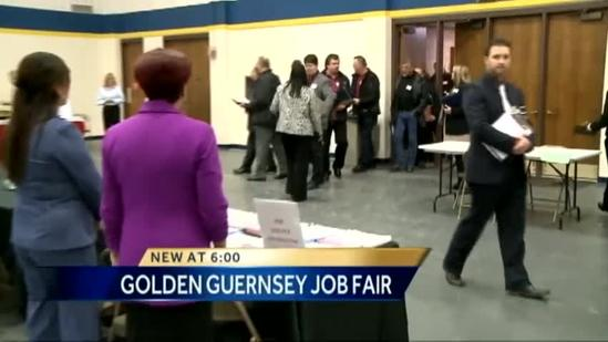 Job fair for Golden Guernsey workers