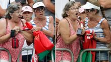 Female fans kicked out of Aus Open over extraordinary post-match fight