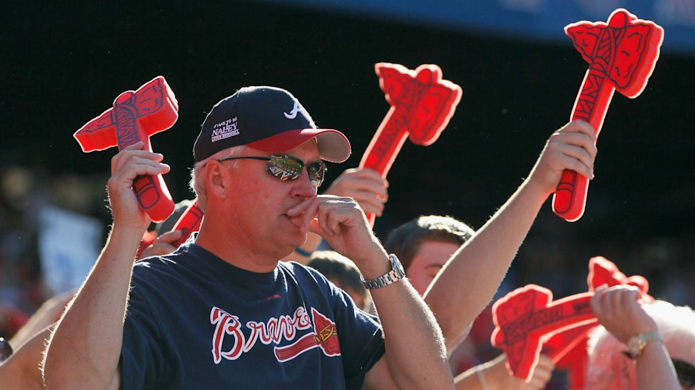 Braves foam tomahawks spill onto Atlanta highway, blocking traffic