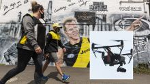 'Necessary intrusion': Drones to monitor AFL fans for grand final