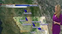 Friday: stubborn clouds linger as winds kick up