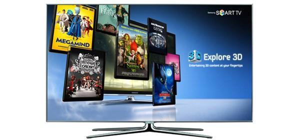 Samsung's free Explore 3D VOD service lands for British Smart TV owners