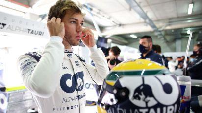 Pierre Gasly ringrazia Sebastian Vettel