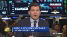 Auto and housing sectors under pressure