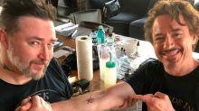 Los Vengadores originales se hacen tatuajes idénticos ¡te contamos lo que significa!