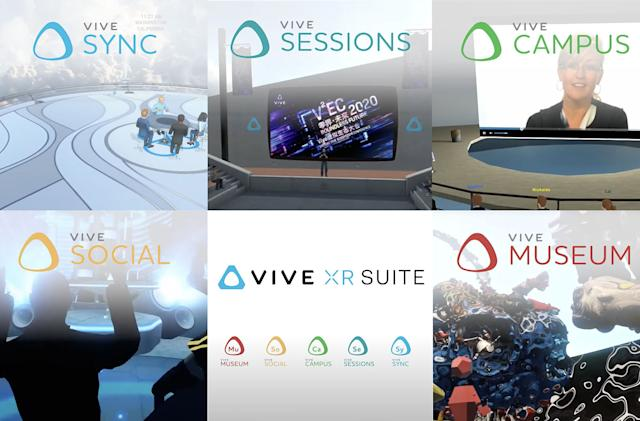 HTC's Vive XR Suite lets people work together even if they're not all in VR
