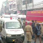 Fire at New Delhi factory kills 43