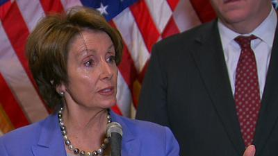 Pelosi: 'expect' Straight Vote on Fiscal Plan