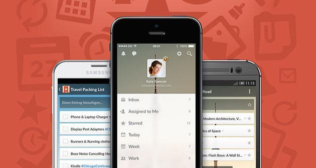To-do app Wunderlist gets a fresh coat of paint and real-time sync