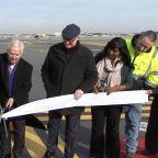 City officials Cut Ribbon on PHL Runway Expansion
