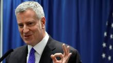 No charges for New York mayor in fundraising probes: prosecutors