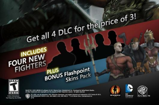 Injustice season pass includes 4 characters, bonus costumes [Update: Now with more Harley Quinn]