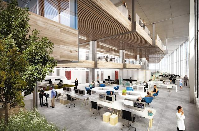 Google unveils new plans for its London HQ