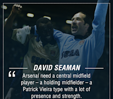 Arsenal two signings away from being serious title challengers - Seaman