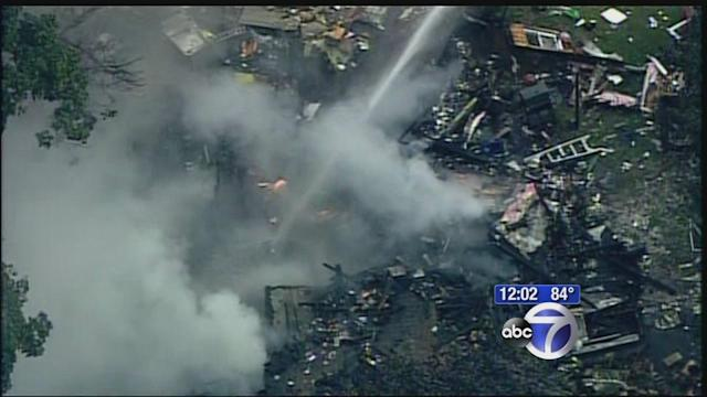 Deadly house explosion in New Jersey