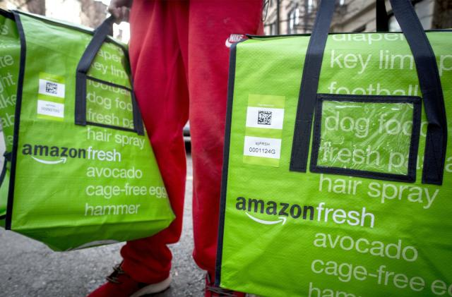Amazon and online grocery services will soon accept food stamps