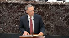 Trump Impeachment Lawyer Utters 'Biggest Lie Ever' Told On Senate Floor