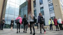 Mixed emotions among pupils as schools return begins in Scotland