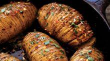 Cast-Iron Hasselback Potatoes