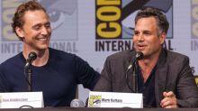 """Schauspieler Mark Ruffalo: Irre Foto-Aktion bei Pressekonferenz von """"Thor 3"""""""
