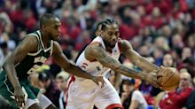Raptors roll as Kawhi Leonard limps through Game 4 win over Bucks