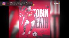 Trikot-Hype: Uniteds Christen Press und Tobin Heath verkaufen mehr als Pogba