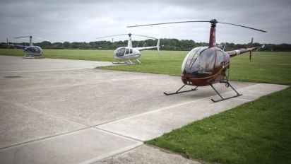 2 helicopters collide in midair in Texas: FAA