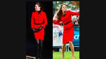 Ces looks que Kate Middleton a portés plusieurs fois
