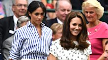 Duchesses Meghan Markle and Kate Middleton attend Wimbledon together: Pics!