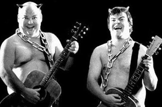 Tenacious D performing at BlizzCon 2010