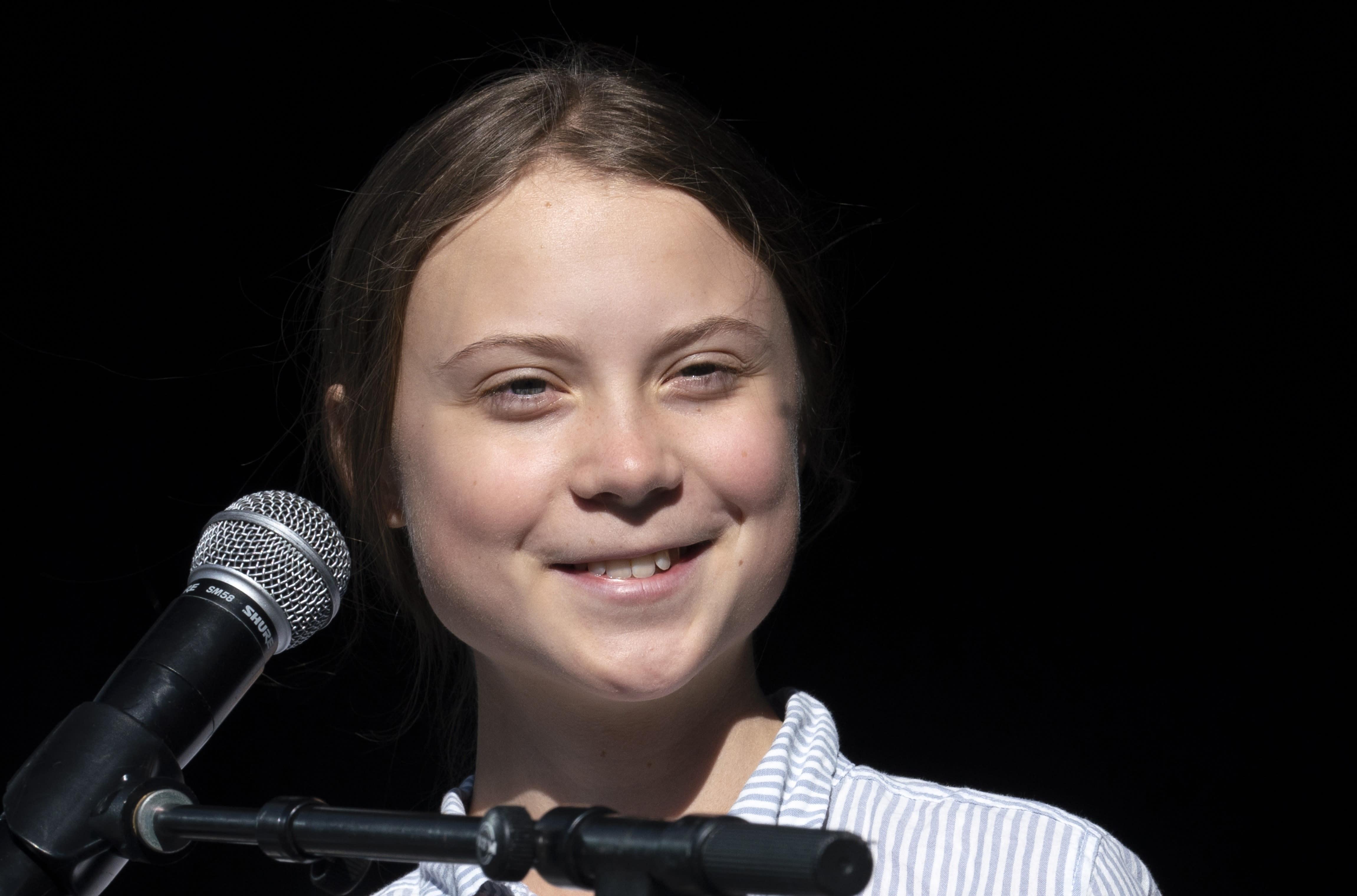Greta Thunberg visits South Dakota Monday for climate rally