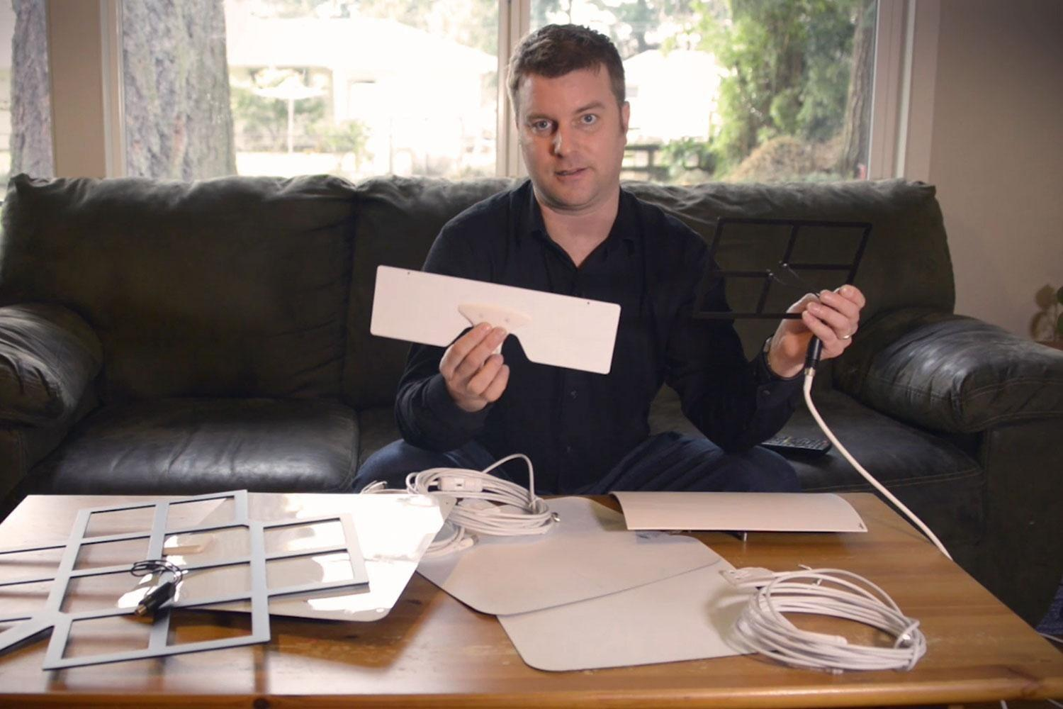 How to install an HD antenna for free TV
